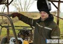 Багги своими руками собирает любитель скорости из Лепельского района Денис Леоненко