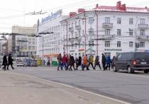 На перекрестке в центре Витебска увеличили время зеленого сигнала для пешеходов
