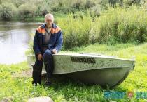 LenaStar. Судостроитель-самоучка из Витебского района смастерил лодку в честь жены