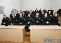 Витебские омоновцы сдавали экзамен на право ношения черного берета (+ФОТО)