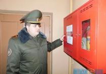 Сотрудники МЧС проверили общежития области в связи с участившимися случаями пожаров