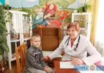 Участковый педиатр в Лиозно стала семейным доктором для многих жителей района