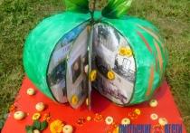 Уникальные арт-объекты из фруктов и природных материалов показали в Полоцке в день Яблочного Спаса (+ФОТО)