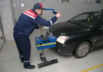 Более половины зарегистрированных в Беларуси автомобилей ездят без техосмотра