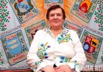 Каля 200 вышыванак знакамітай майстрыхі Ліліі Зарэцкай выстаўлена ў Пастаўскім Доме рамёстваў