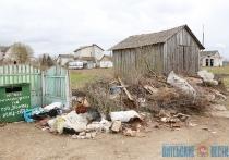 Контейнеры установлены, свалка остается. Жители Коптей Витебского района жалуются на спецавтобазу