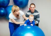 Фитнес на шарах и гимнастика на воде для грудничков. Какие развивающие занятия для детей до 3-х лет есть в Витебске?