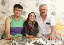 Столетняя Астихик Манджан из Лиозненского района знает, что нужно для долгой жизни, – радость!