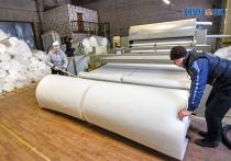 Синтепон для швейных и мебельных предприятий области и России выпускают дубровенские предприниматели