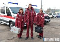 Парк Витебской городской станции скорой и неотложной медицинской помощи пополнили 15 новых машин