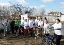 Бесплатный пункт проката велосипедов открыт в Богушевске для продвижения идей здоровья