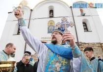 Торжественные богослужения по случаю Благовещения провели в старейшем храме Витебска