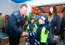 В Витебске наградили лучших юных инспекторов дорожного движения