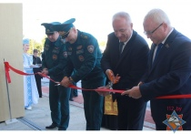 Пожарную аварийно-спасательную часть открыли в Орше после реконструкции
