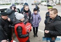 Совместную акцию «За безопасное вождение» провели МТС и ГАИ в Витебске