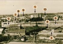 Першы дом з ліфтам, сударамонтныя майстэрні і малаказавод. Як выглядала плошча Перамогі ў Віцебску ў 60-я