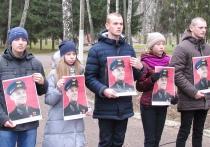 Бюст советского летчика-героя установили в Болбасово Оршанского района