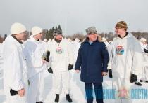 Совместный 100-километровый марш-бросок на лыжах совершили витебские и псковские десантники (+ФОТО, ВИДЕО)