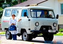 Новый автомобиль скорой помощи поступил в Копысскую больницу в подарок от Президента