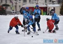 Ледяные фигуры и спортивные баталии. День снега отметили в Витебске (+ФОТО)