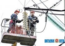 Витебские энергетики восстановили электроснабжение 55 населенных пунктов