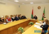 Инвалиды по зрению озвучили свои проблемы на встрече с зампредом облисполкома  Владимиром Пениным