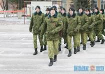 Новый период обучения стартовал в войсковой части МВД в Витебске (+ФОТО)